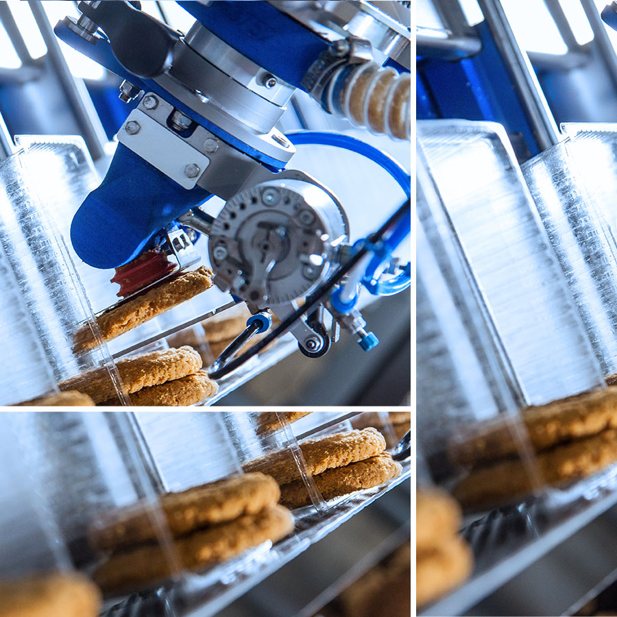 Pick and Place Automated Robotic Food Packaging